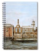 Butlers Wharf And Courage's Brewery Spiral Notebook