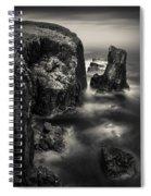 Butt Of Lewis Cliffs Spiral Notebook