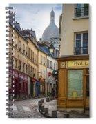 Butte De Montmartre Spiral Notebook