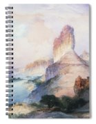 Butte Green River Wyoming Spiral Notebook