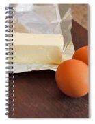 Butter And Eggs Spiral Notebook