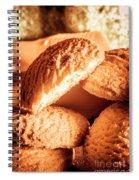 Butter Shortbread Biscuits Spiral Notebook
