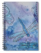 Butterflies And Dragonflies Spiral Notebook