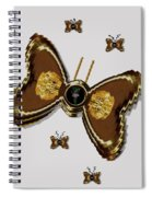 Butterflies For The Worlds  Future Spiral Notebook