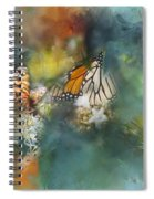 Butterflies On A Spring Day Spiral Notebook