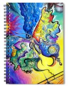 Butterfly 01. Science And Its Progress  Spiral Notebook