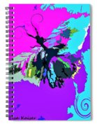 Butterfly Art By Lisa Kaiser Spiral Notebook