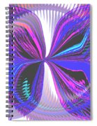 Butterfly Behind The Scenes Spiral Notebook