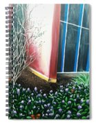 Butterfly Bush Spiral Notebook