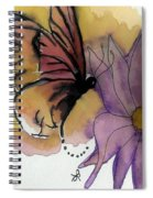 Butterfly Collecting Spiral Notebook