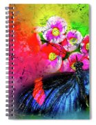Butterfly Color Explosion Spiral Notebook