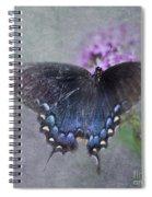 Butterfly Dance Spiral Notebook