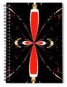 Butterfly Design Spiral Notebook