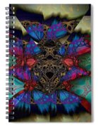 Butterfly Effect 2  Spiral Notebook