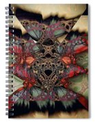 Butterfly Effect 2 / Vintage Tones  Spiral Notebook