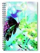 Butterfly Fantasty Spiral Notebook