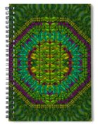 Butterfly Flower Jungle And Full Of Leaves Everywhere  Spiral Notebook