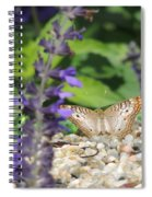 Butterfly Garden Spiral Notebook