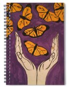Butterfly Glory Spiral Notebook