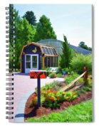 Butterfly House 1 Spiral Notebook