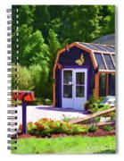 Butterfly House 2 Spiral Notebook