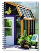 Butterfly House 3 Spiral Notebook