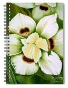 African Butterfly Iris Spiral Notebook