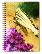 Butterfly Journey Spiral Notebook
