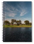 Butterfly Lake At Middleton Place Spiral Notebook