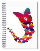 Butterfly Migration Spiral Notebook