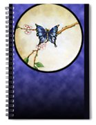 Butterfly Moon Spiral Notebook