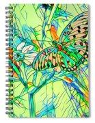 Butterfly Mosiac Spiral Notebook