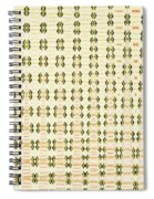 Butterfly Multiplication Abstract, Spiral Notebook