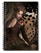 Butterfly Princess Of The Forest 2 Spiral Notebook