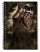 Butterfly Princess Of The Forest Spiral Notebook