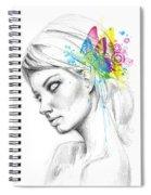 Butterfly Queen Spiral Notebook