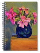 Butterfly Roses Spiral Notebook