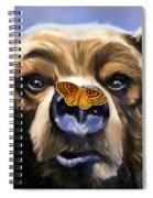 Butterfly Surprise Spiral Notebook