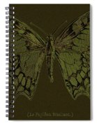 Butterfly Swallow Tail Spiral Notebook