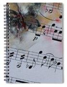 Butterfly Symphony Spiral Notebook
