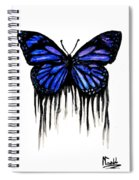 Butterfly Tears Spiral Notebook