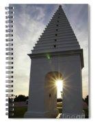 Butteries Sunset Spiral Notebook