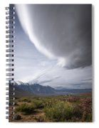 Buttermilks Sky Spiral Notebook
