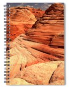 Buttes And Checkerboards Spiral Notebook