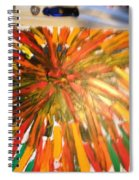 Bullet Proof Hurricane Glass One Spiral Notebook