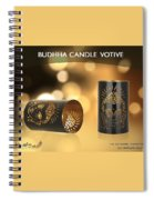 Buy Attractive Buddha Candle Votive From Rustik Craft  Spiral Notebook