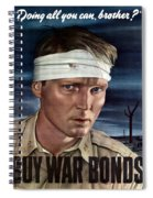 Buy War Bonds Spiral Notebook