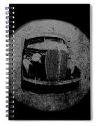 Buzz Art Round By Lesa Fine Spiral Notebook