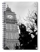 Bw Big Ben London 2 Spiral Notebook