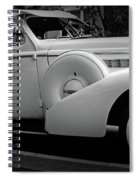 Bw Buick 8 Spiral Notebook